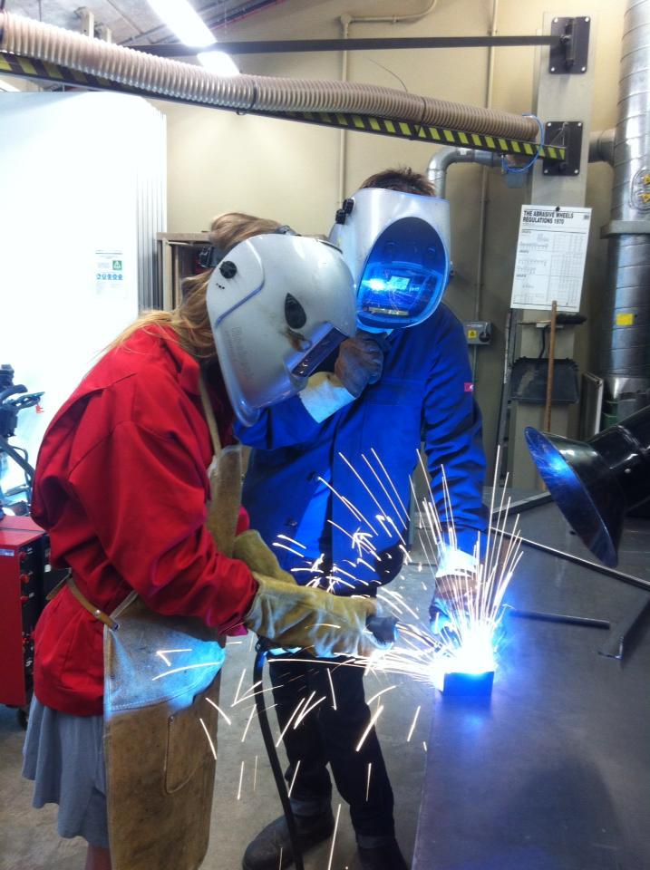 Putters - welding